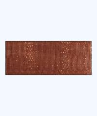 Terracotta Brown Organza Ribbon – 30 meters
