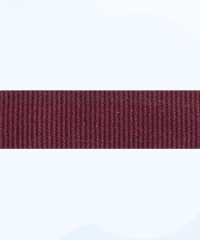 burgundy petersham ribbon