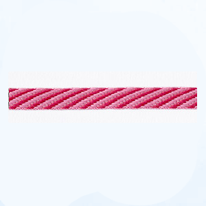 Petersham 10 meters – Diagonal Stripes – Mallow Pink/Cranberry