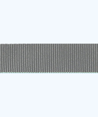 Grey Petersham Ribbon – 10 meters (15 mm)