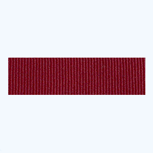 Maroon Petersham Ribbon – 10 meters (20 mm)
