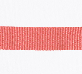 Strawberry Petersham Ribbon – 10 meters (15 mm)