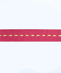 Petersham 10 meters – center stitch – Cranberry/Bitter Lemon 10mm