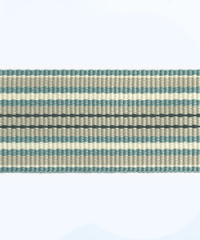 Petersham woven stripes 10 meters – Duck Egg / Cream /Stone / Navy – 25mm