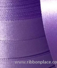 Polyester satin ribbon for printing (10 mm – 150 mm wide) 100 meter rolls – Lilac