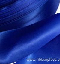 Polyester satin ribbon for printing (10 mm – 150 mm wide) 100 meter rolls – Royal Blue