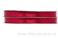 Burgundy Sparkle Satin Ribbon – 30 meter