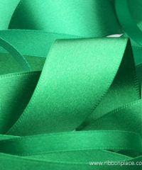 Emerald Green Sparkle Satin Ribbon – 30 meters