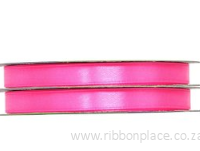 Hot Pink Sparkle Satin Ribbon – 30 meter