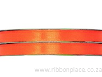 Orange Sparkle Satin Ribbon – 30 meter