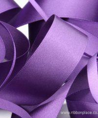 Purple Sparkle Satin Ribbon – 30 meter