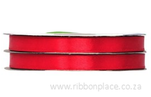 Red Sparkle Satin Ribbon – 30 meters