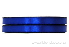 Royal Blue Sparkle Satin Ribbon – 30 meters