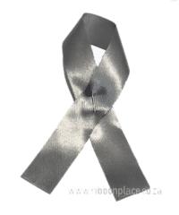 Silver Awareness Ribbons (100 units)